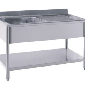 Столы для готовки и мойки. Мебель из нержавеющей стали