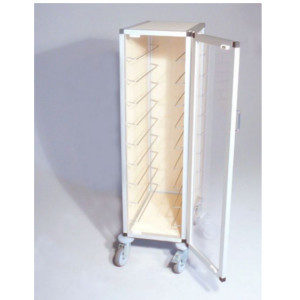 Тележка TAWALU, одинарная с акриловой прозрачной дверцой и задней панелью
