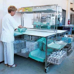 Решения для упаковки и хранения материалов и инструмента