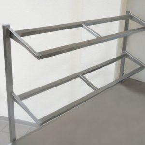 Аксессуары для столов с регулировкой по высоте - полки из нержавеющей стали